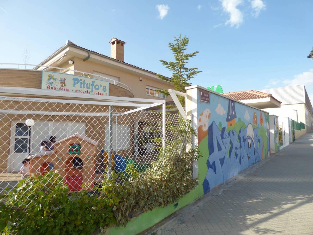 Proyecto Realizado a Guardería Pitufos