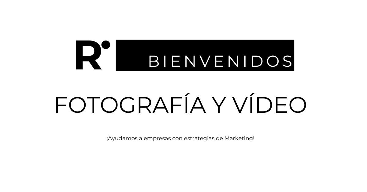 Fotografía y Vídeo - Ricard Puig Marketing